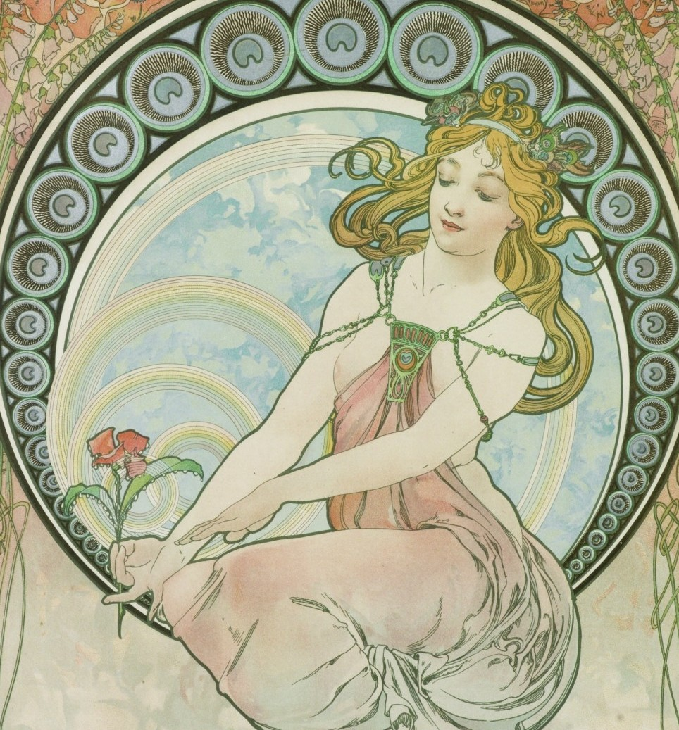 Alfons Mucha e le atmosfere art nouveau in mostra.